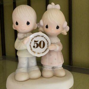 Precious moments 50th anniversary by enesco
